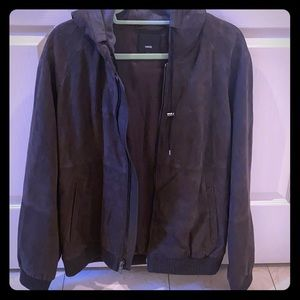 Vince Men's Suede/Leather Jacket